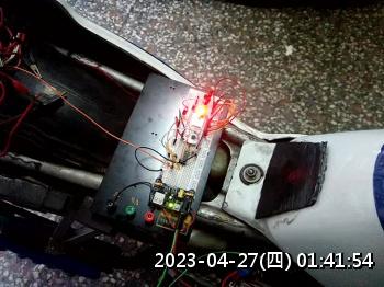 2019.07.06自製LED轉速表